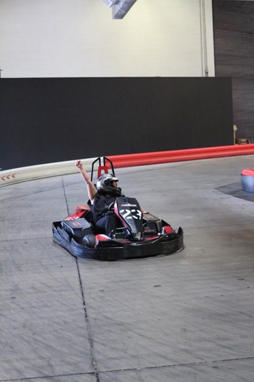Go-Kart Racing Participant