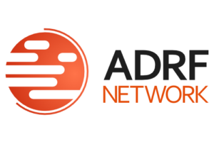 ADRF logo w graphic