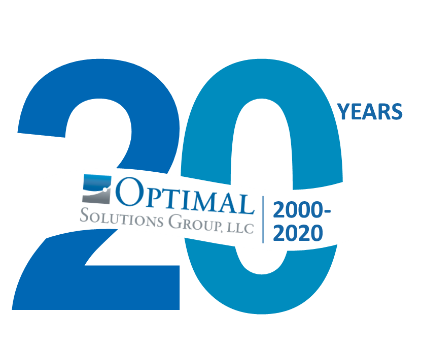 20 years anniversary of Optimal Solutions Group, LLC