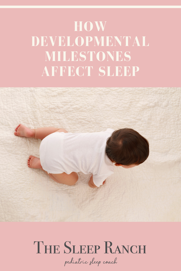 Learn how common developmental milestones can affect a child's sleep.