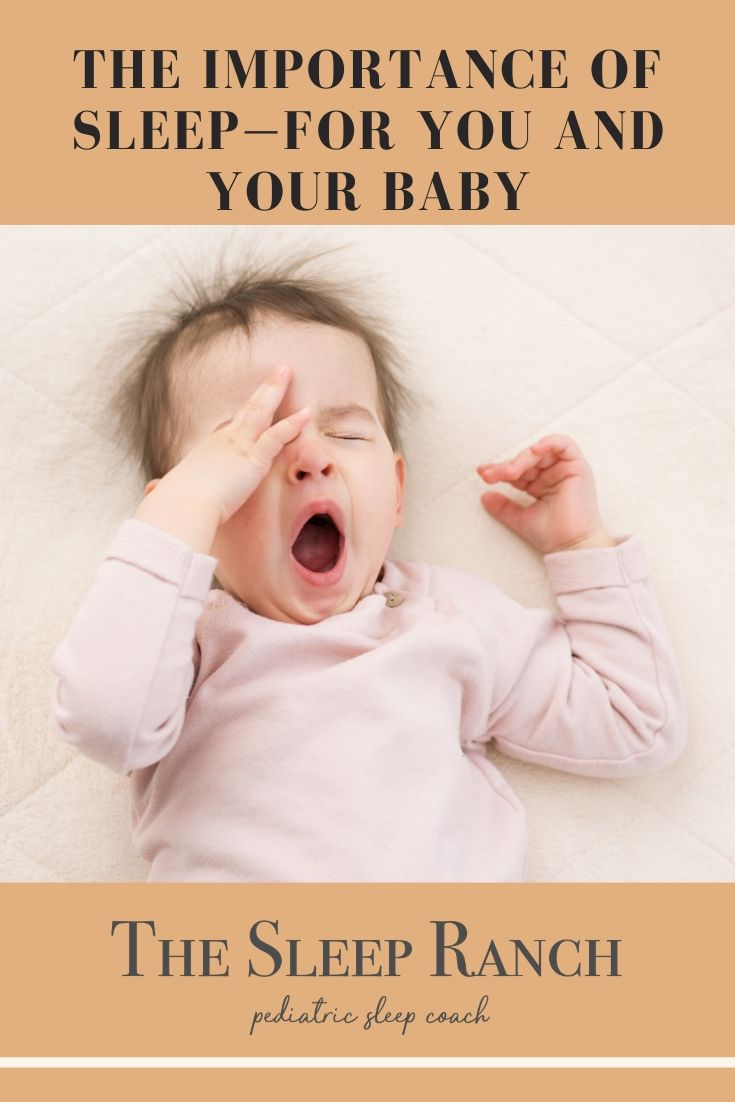 The importance of sleep—for you and your baby