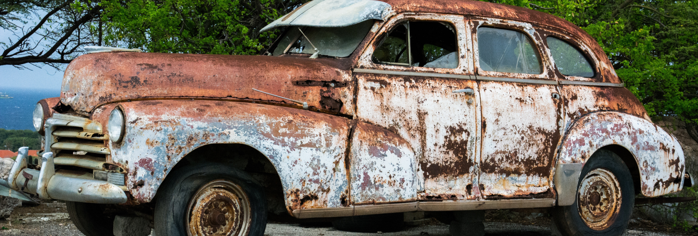 All about rusted cars and vehicles
