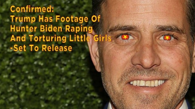 Hunter Biden Raping and Torturing Children