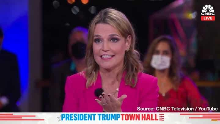Savannah Guthrie Trump QAnon Question