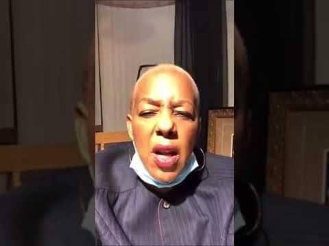 Cynthia Johnson Threatens Trump Supporters (Video)