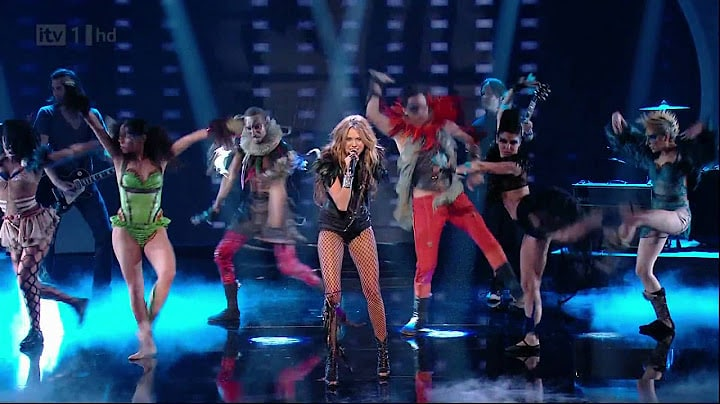 Miley Cyrus - Can't Be Tamed (Live Britains Got Talent 2010)