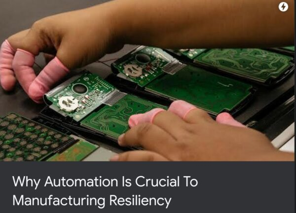 Automation is critical to industrial products
