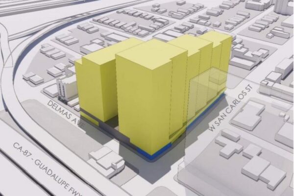 massing-study-of-office-towers-proposed-for-the-corner-of-wsc-and-delmas-ave-in