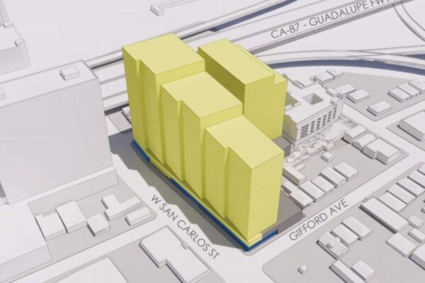 massing-study-of-office-towers-proposed-for-the-corner-of-wsc-delmas-ave-and