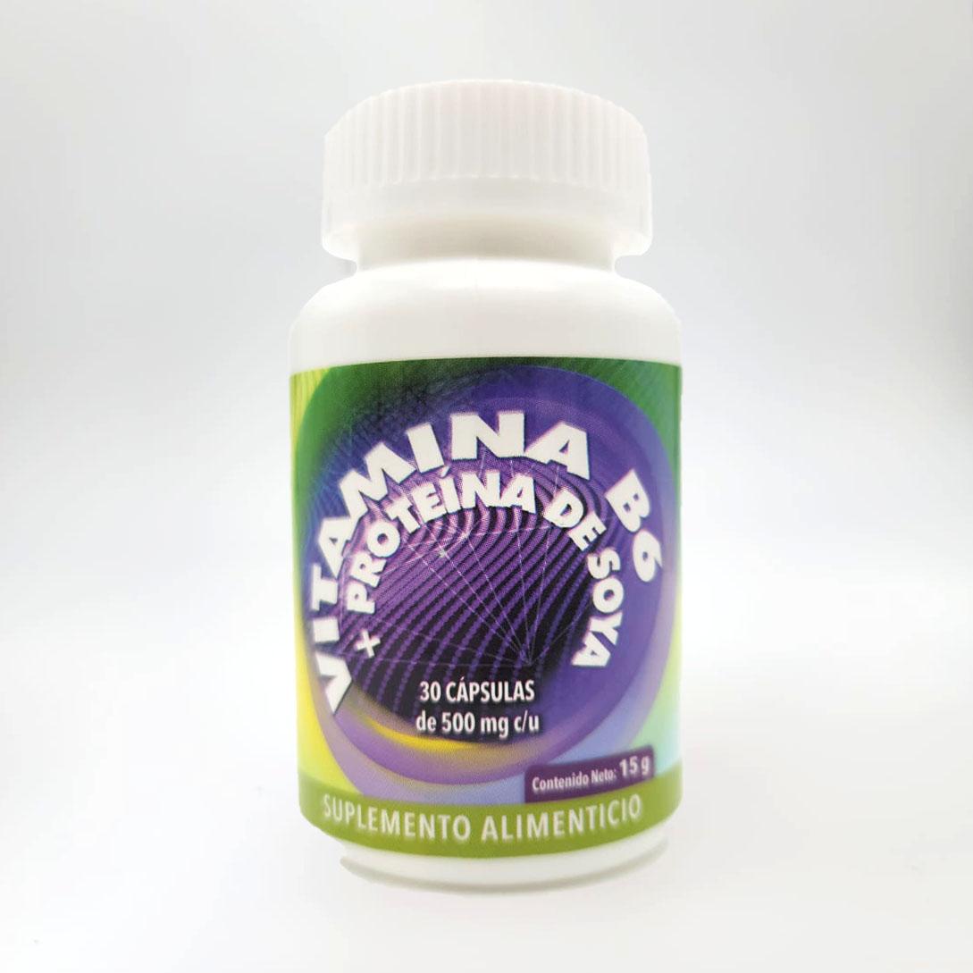 Vitamin B6 - Fixed - Front
