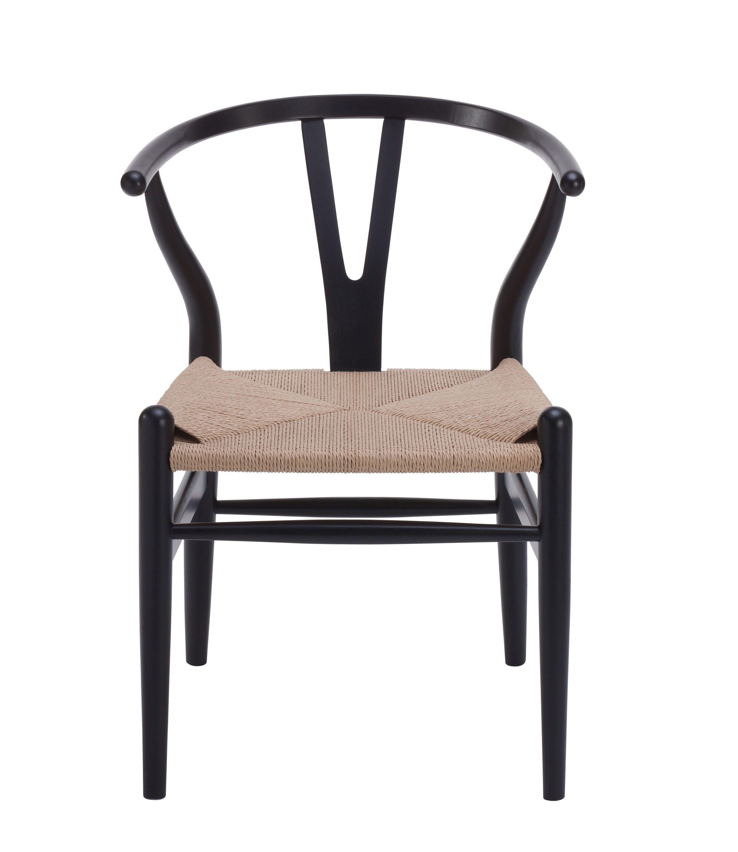 Wishbone Chair Replica (Black)