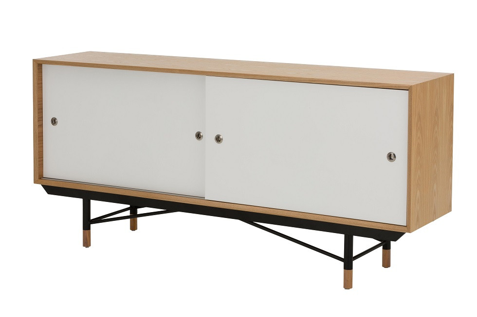 Replica Finn Juhl FJ Sideboard Ash Timber
