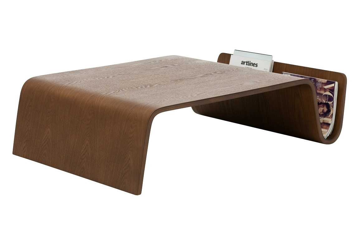 Scandi Coffee Table - Walnut