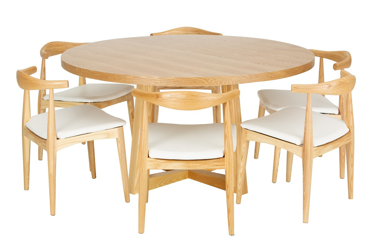 Replica Brad Ascalon Round Dining Table 150 cm