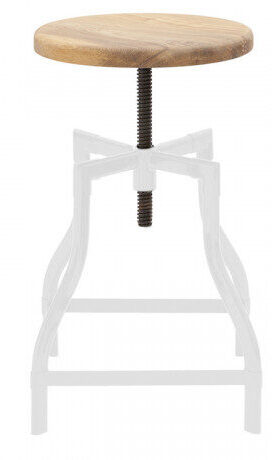 Replica Turner Industrial Stool - White
