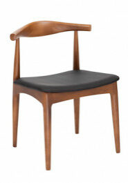 Replica Hans Wegner Elbow Chair Mid Walnut