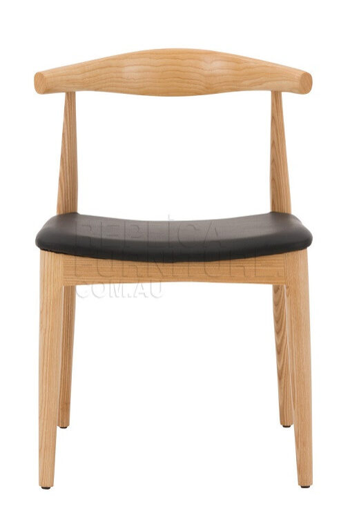 Replica Hans Wegner Elbow Chair Natural