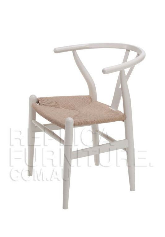 Replica Wishbone Chair - White