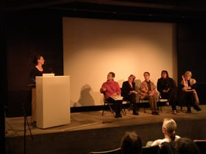 Moderator: Jennifer Banta Panelists: Flo Wong, Lenore Chin, Alexa Young, Kim Anno, Moira Roth