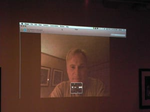 Jonathan D. Katz on Skype