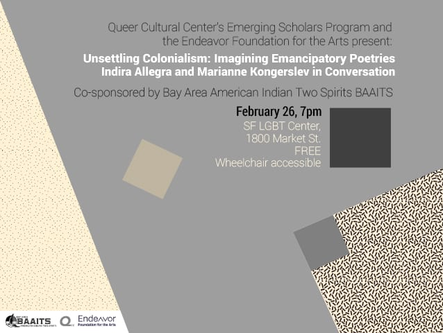 Unsettling Colonialism: Imagining Emancipatory Poetries