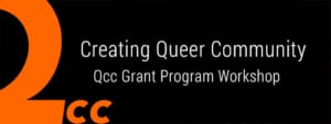 Creating Queer Community logo