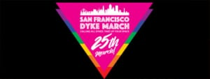 Dyke March 25 logo