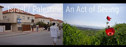 invitation to Isreal/Palestine