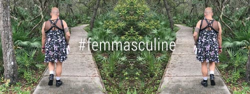 Ad for femmasculine show