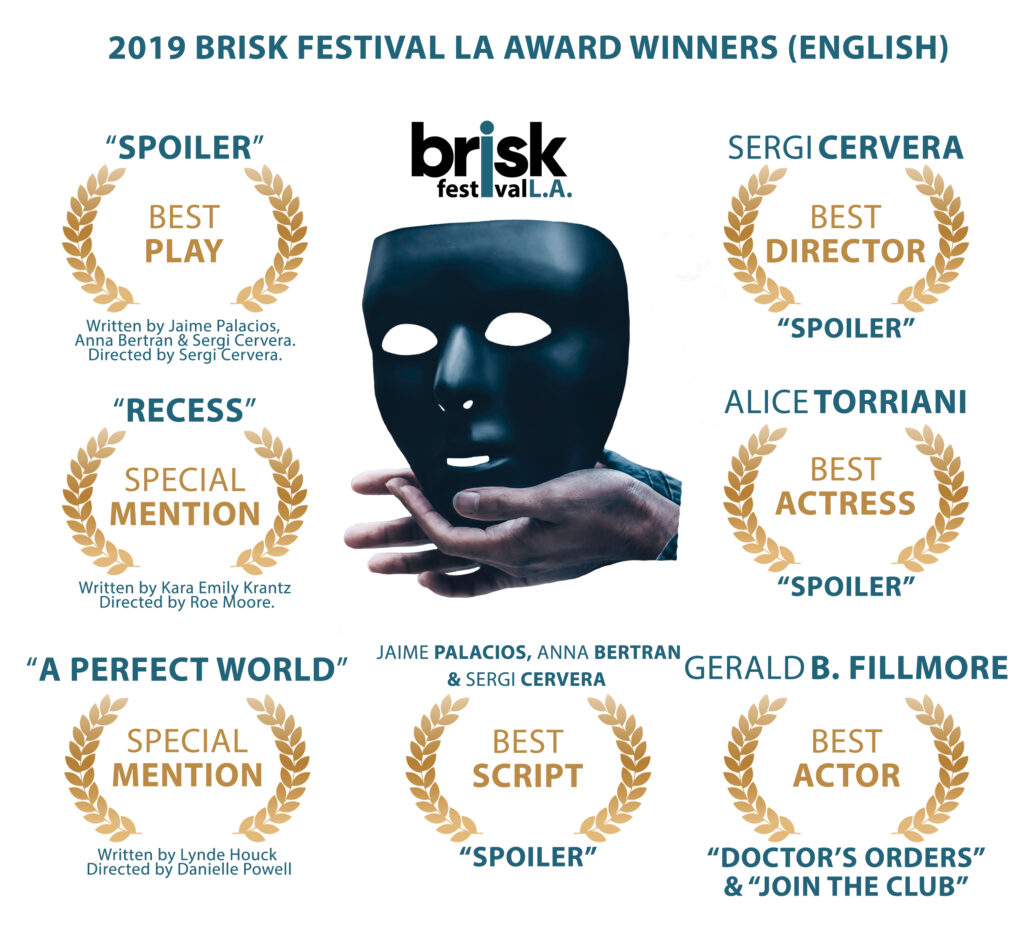 Brisk FESTIVAL – The Most Exciting Short Plays Festival in
