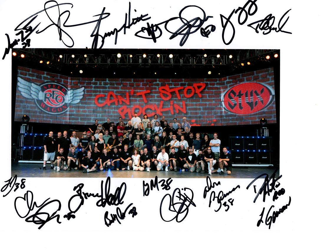 Styx REO .38 Special Crew 2009