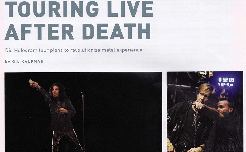 Dio Hologram article