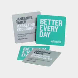 Square Business Cards, Business cards, Square Business Cards
