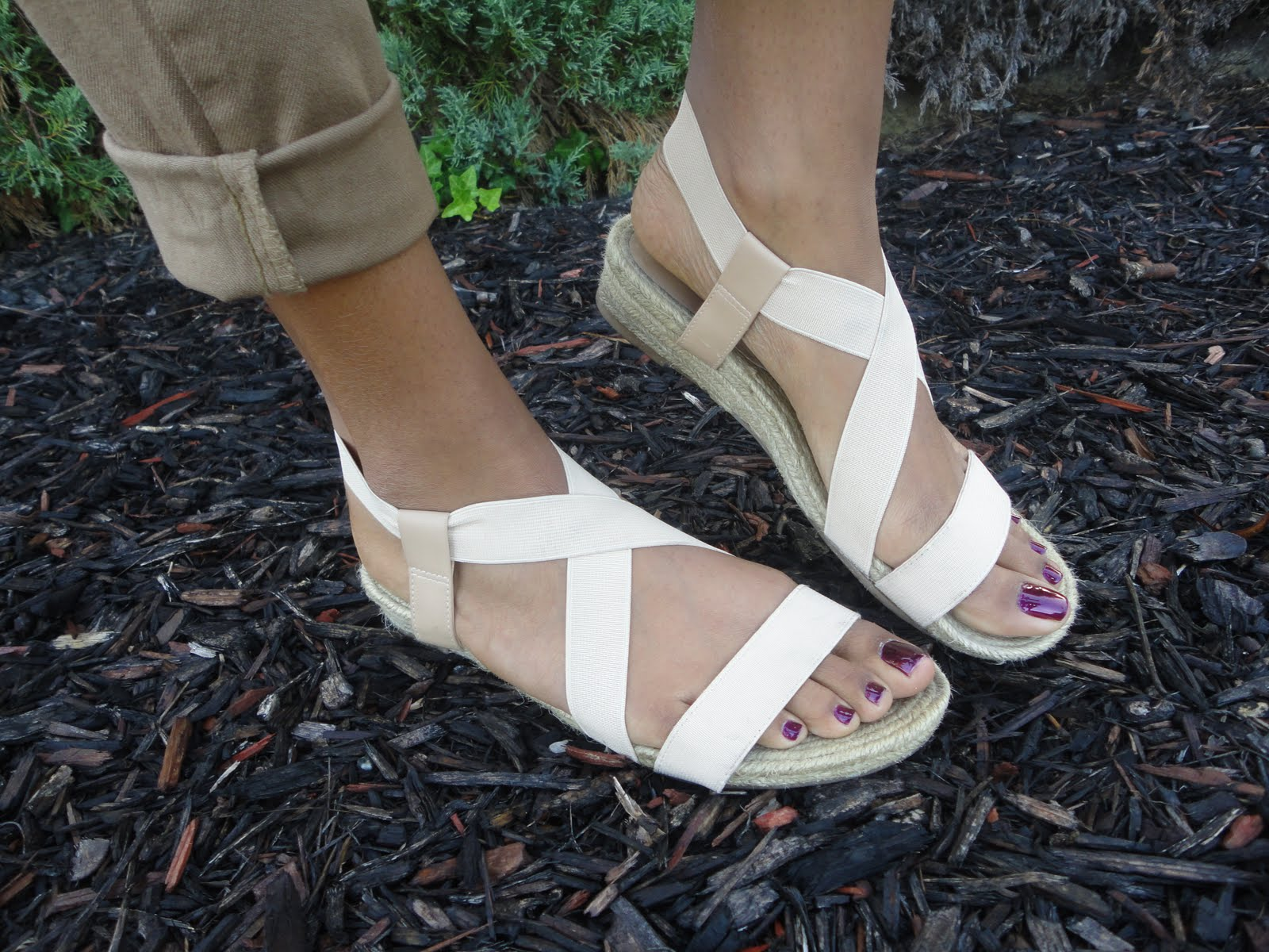 bandage sandals