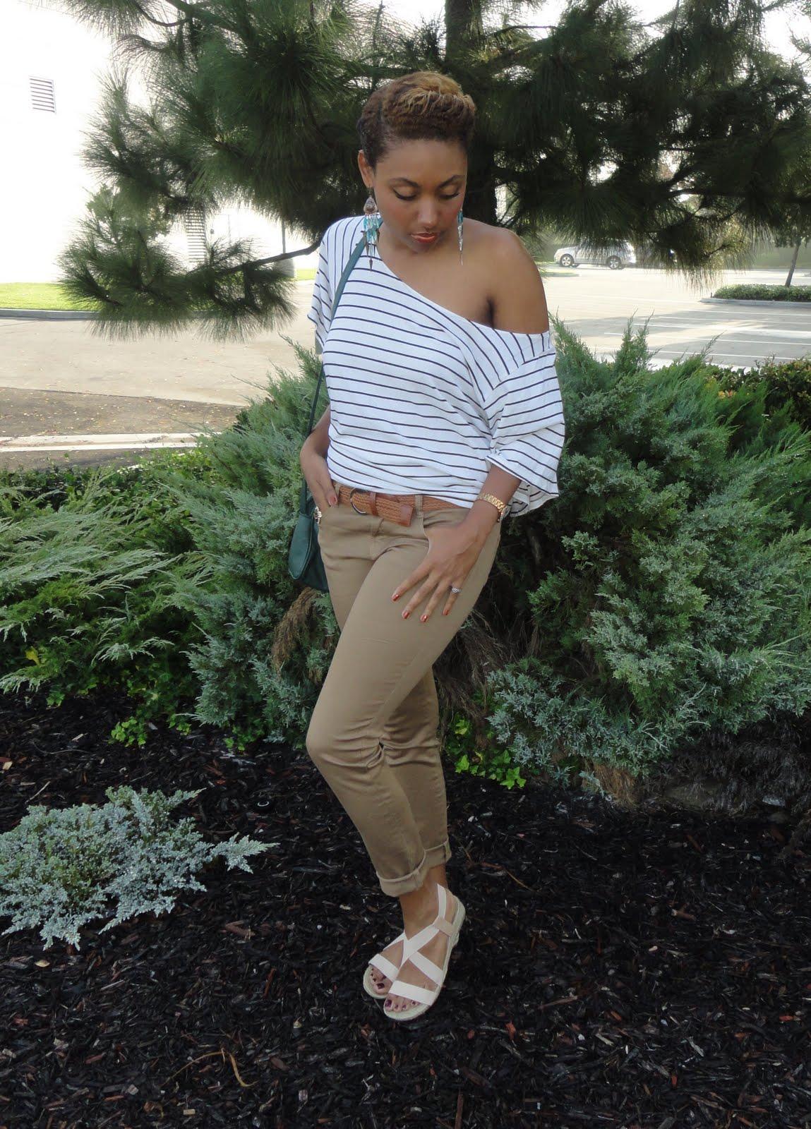 how to wear khaki pants