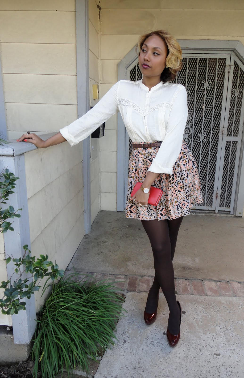 vintage inspired outfit