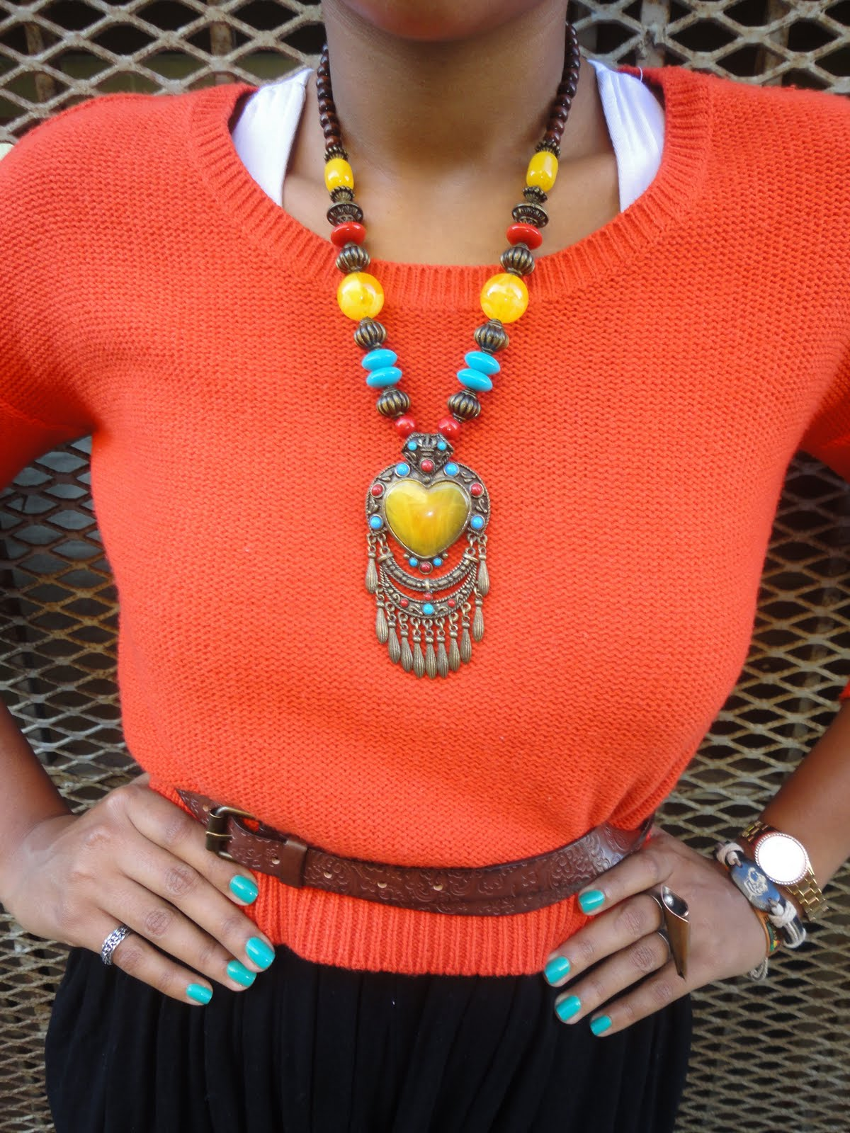 tribal inspired accessories