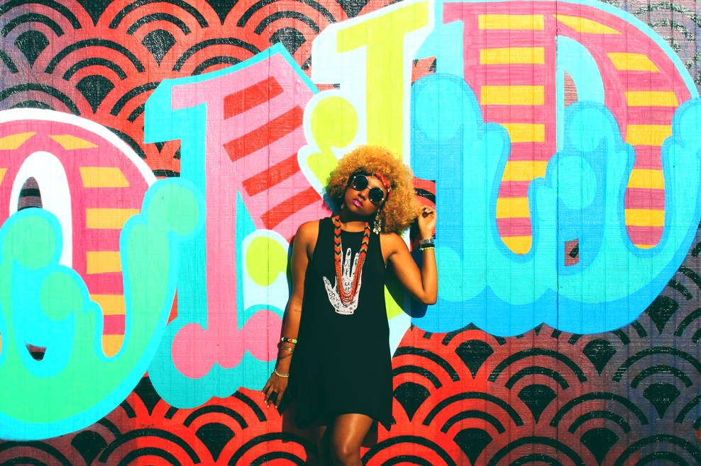 gold dust boutique dress, bohemian, boho chic, summer dress, indian summer, natural hair