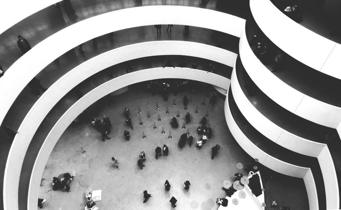Guggenheim Museum-New York-black and white photography-nyc