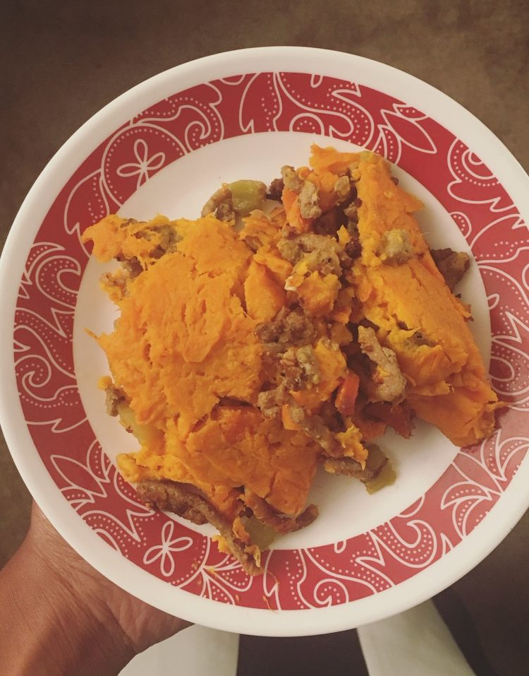 Whole 30 Book Recipe: Shepherd's Pie