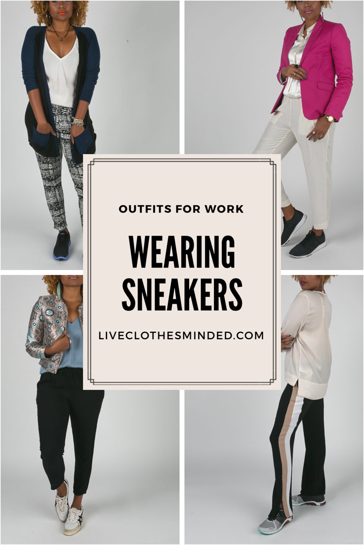 LCM-liveclothesminded-wearwhoyouare-sneaker outfits-work wear-what to wear to work