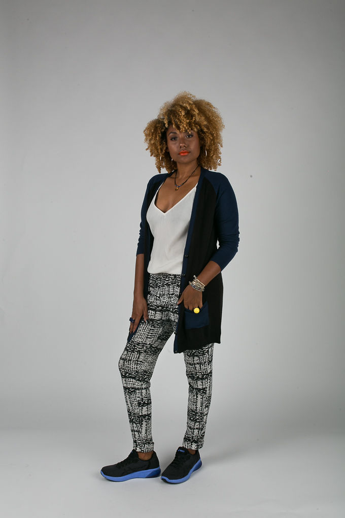 RSEE-LCM-Liveclothesminded-xmmtt-longbeach-6929-what to wear to work-sneakers-cardigan-print pants-asics