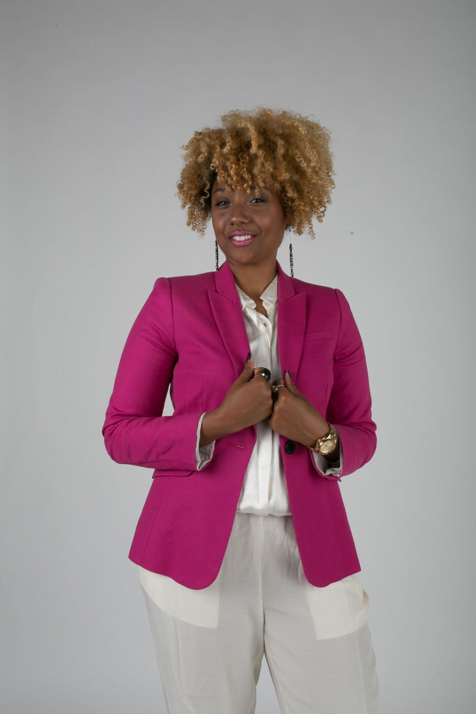 RSEE-LCM-Liveclothesminded-xmmtt-longbeach-7235-blazer-pink blazer-statement blazer-what to wear to work-outfit idea for work-natural hair-blonde curls
