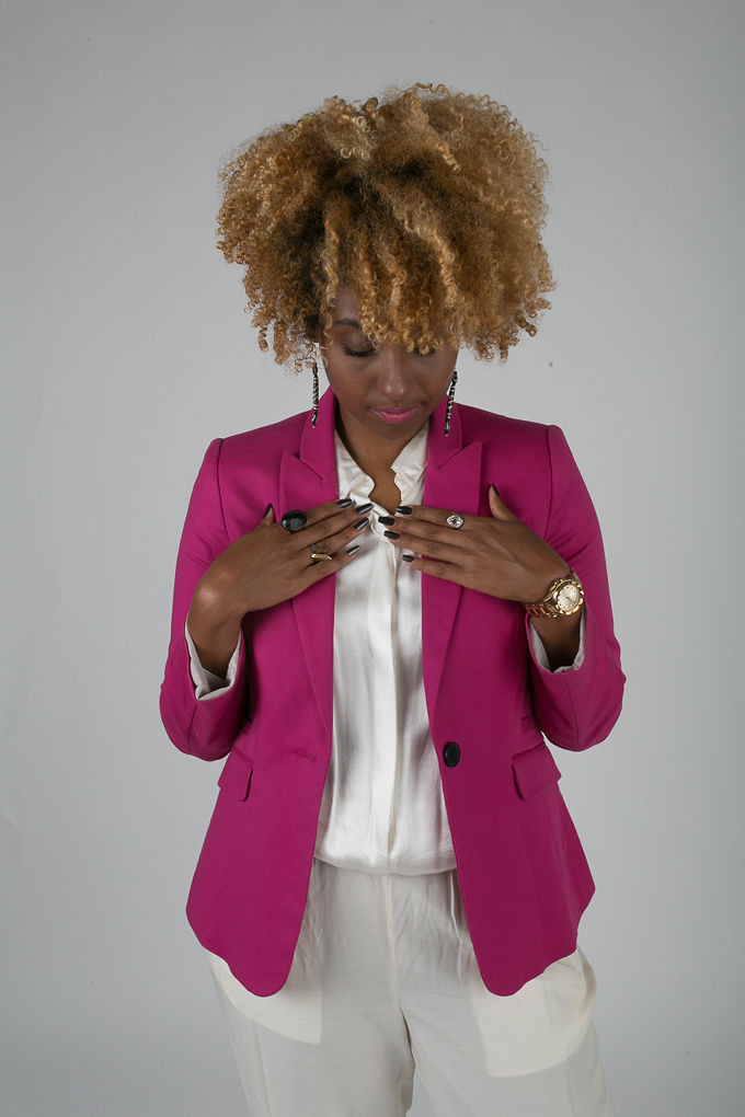 RSEE-LCM-Liveclothesminded-xmmtt-longbeach-7237-blazer-pink blazer-statement blazer-what to wear to work-outfit idea for work-natural hair-blonde curls