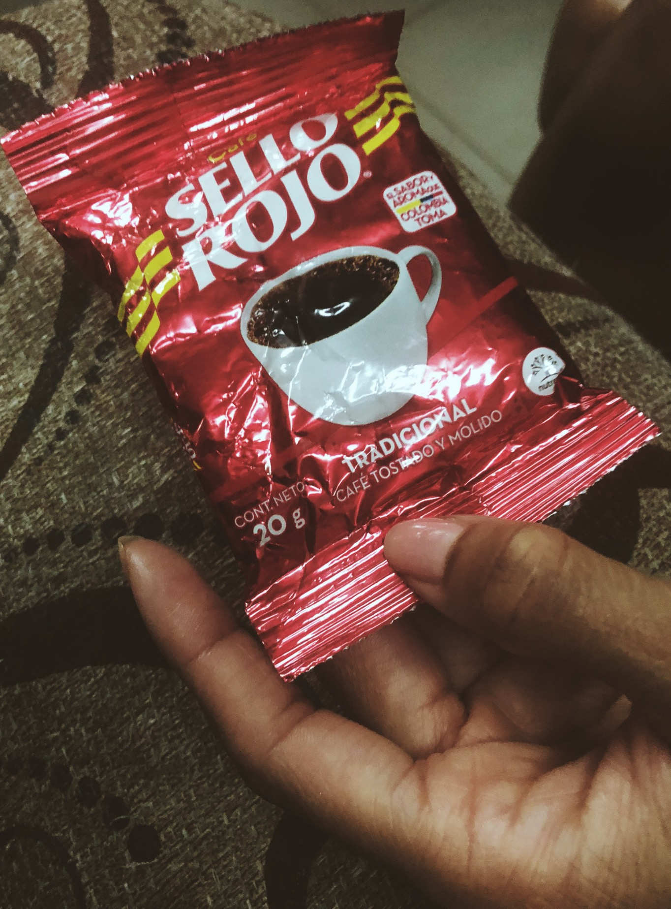 4. Visit a local grocery store or market to buy Sella Rojo, traditional Colombian coffee to take home with you. This will be the cheapest place to find it.
