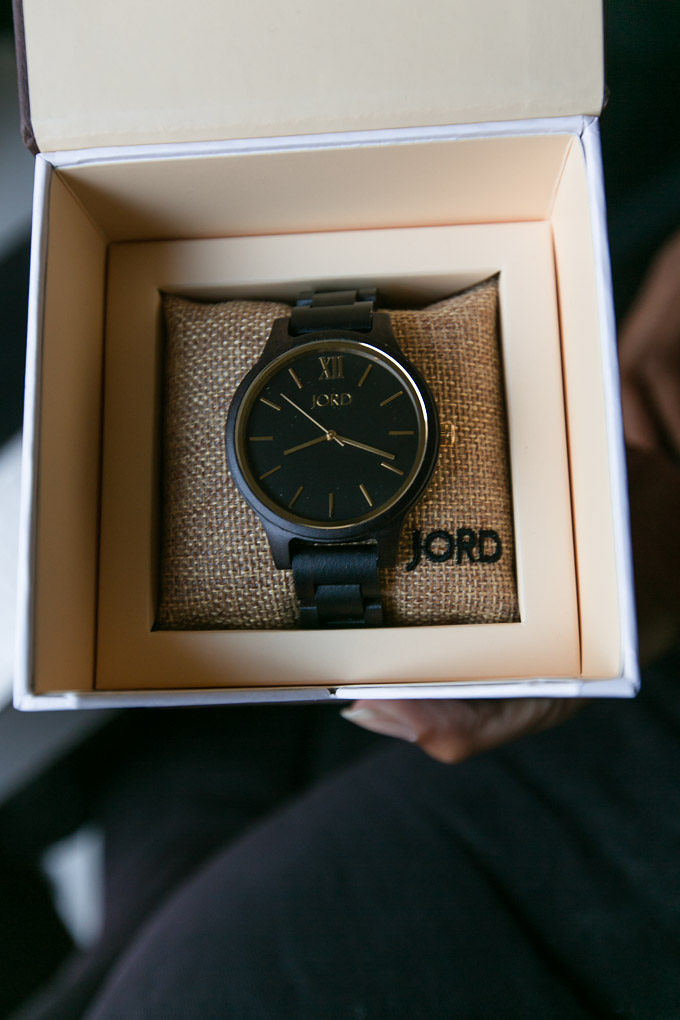 jord watch in box packaging