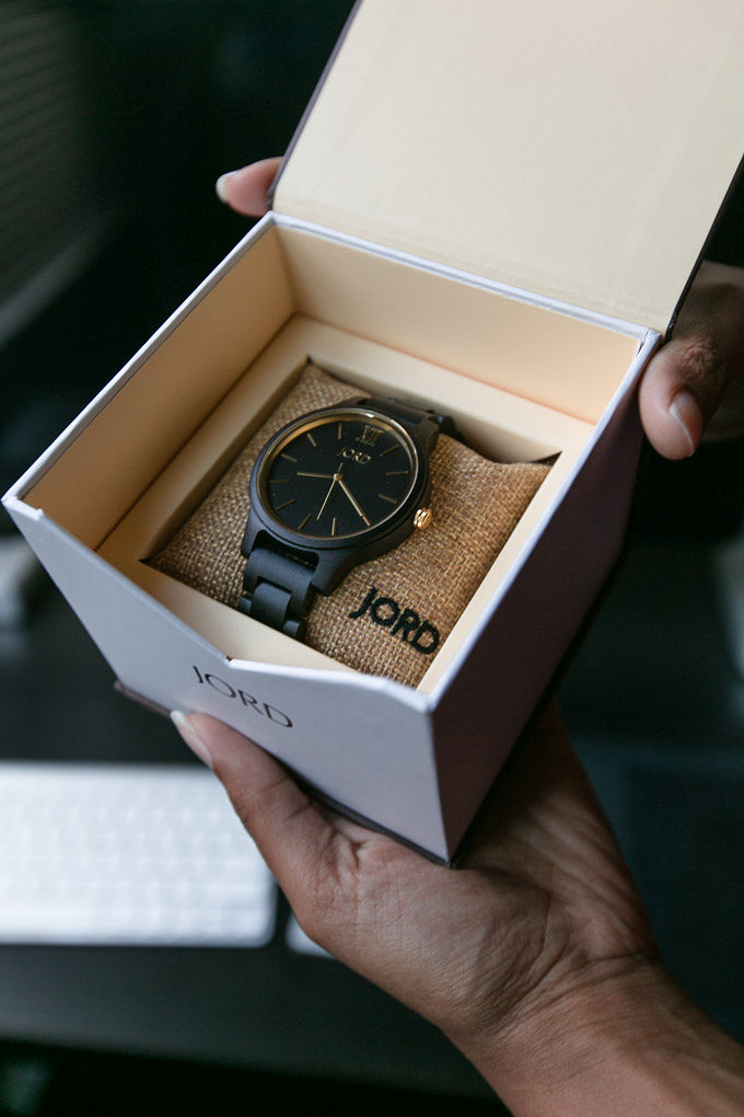 jord wood watch gift idea