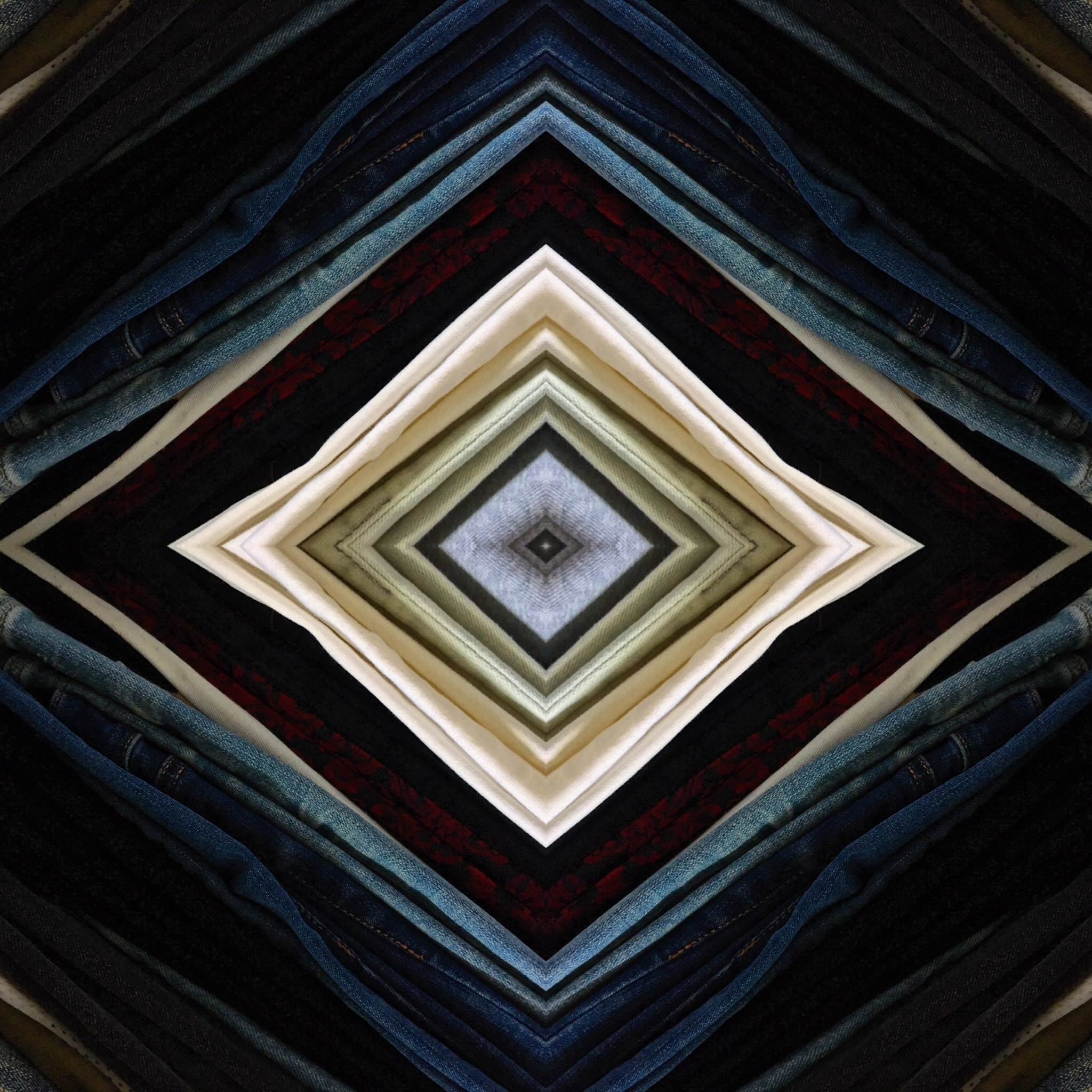 kaleidoscope art-digital art-wear who you are