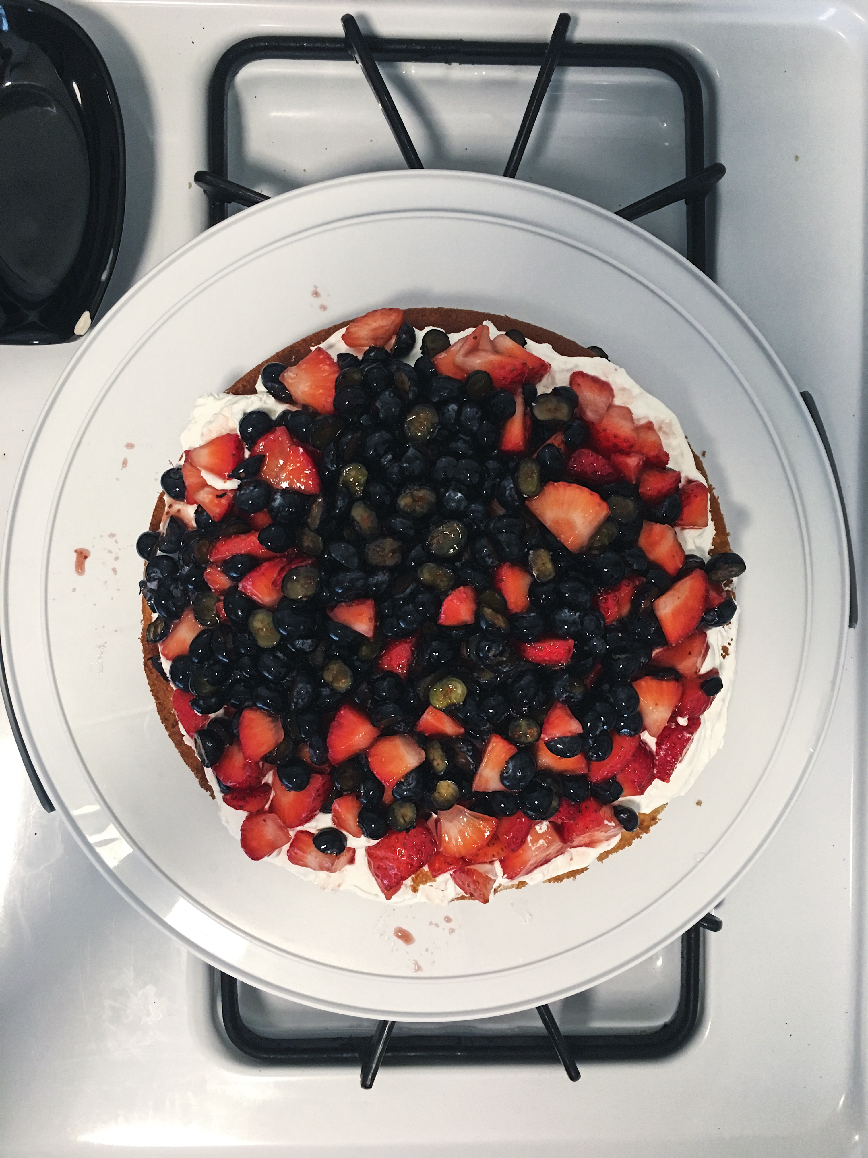 berry filling with cool whip
