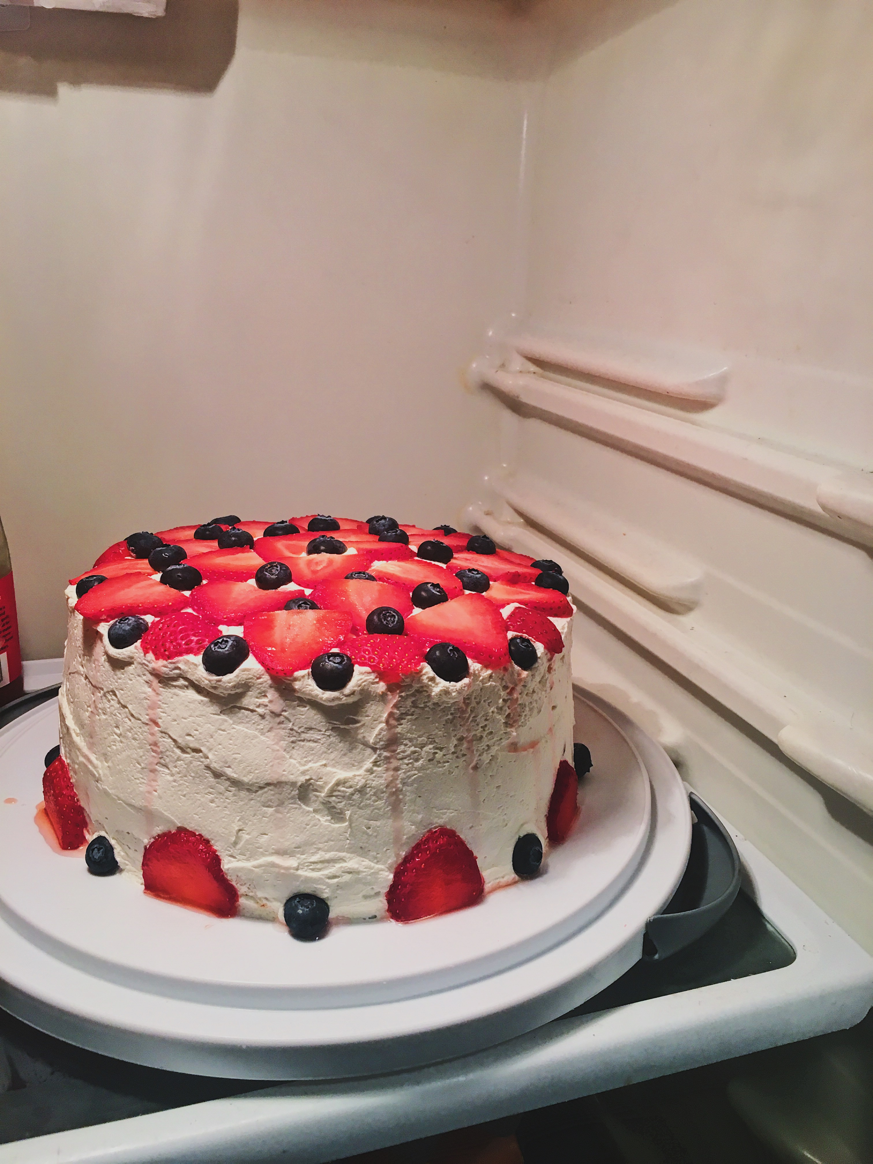 refrigerated cake